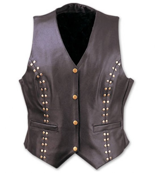 Leather Vests Ladies